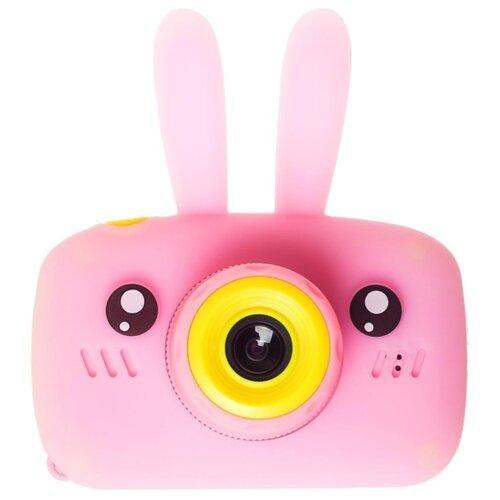Фото - Фотоаппарат GSMIN Fun Camera Rabbit со встроенной памятью и играми розовый rabbit ear embellished badge snow boots