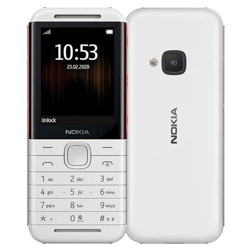 Телефон Nokia 5310 (2020) Dual Sim белый / красный цена 2017