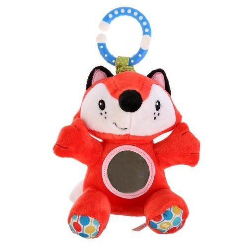 Купить Подвесная игрушка Fisher-Price Лиса (GH73091) красный/голубой, Подвески