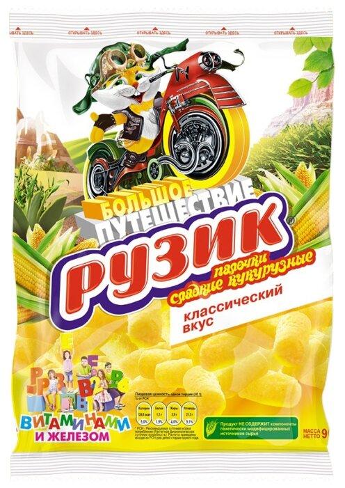 Палочки Рузик сладкие кукурузные с витаминами и железом 90 г