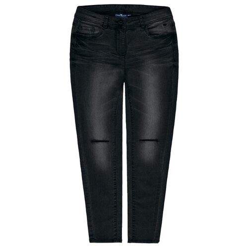 Джинсы Tom Tailor размер 152, темно-серый толстовка tom tailor размер 152 черный