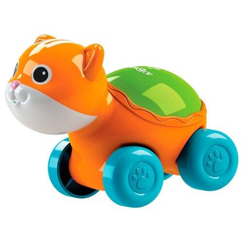 Развивающая игрушка Азбукварик Люленьки Котик Светяшка оранжевый фото