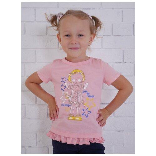 Купить Футболка Jewel Style размер 110, розовый, Футболки и майки