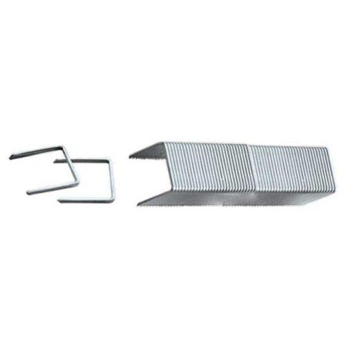 Скобы matrix 41142 тип 53 для степлера, 12 мм скобы 14 мм для мебельного степлера закаленные тип 53 1000 шт matrix master
