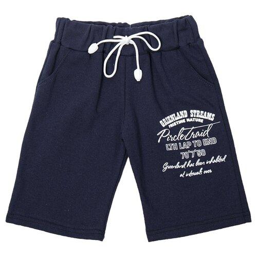 Купить Шорты M&D М1364 размер 92, темно-синий, Брюки и шорты