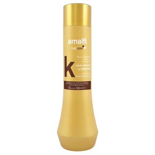 Amalfi кондиционер для волос Keratin с кератином и аргановым маслом, 1000 мл