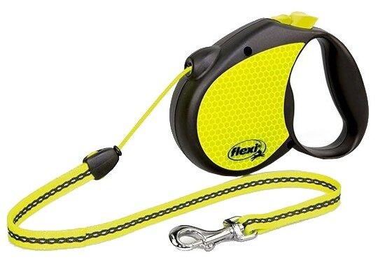 Поводок рулетка для собак Flexi Neon M