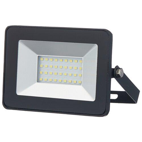 Прожектор светодиодный 30 Вт ЭРА LPR-30-6500К SMD Eco Slim прожектор эра lpr 20 6500к м smd eco slim черный