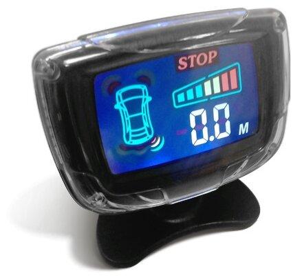 Задние парктроники, монитор TRINITY nm-078-8