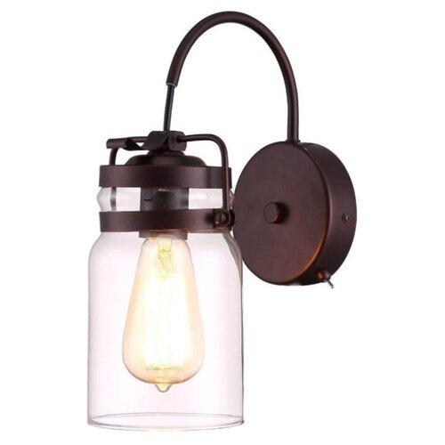 Бра Arte Lamp Bene A9179AP-1CK, с выключателем, 60 Вт бра arte lamp bene a9179ap 1ck