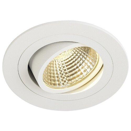 Встраиваемый светильник SLV 113871 slv потолочный светодиодный светильник slv senser square 162983