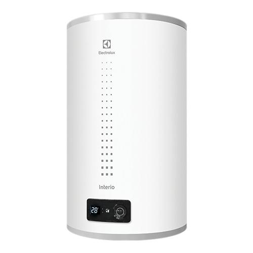 Накопительный электрический водонагреватель Electrolux EWH 50 Interio 3, белый водонагреватель накопительный electrolux ewh 30 interio 2