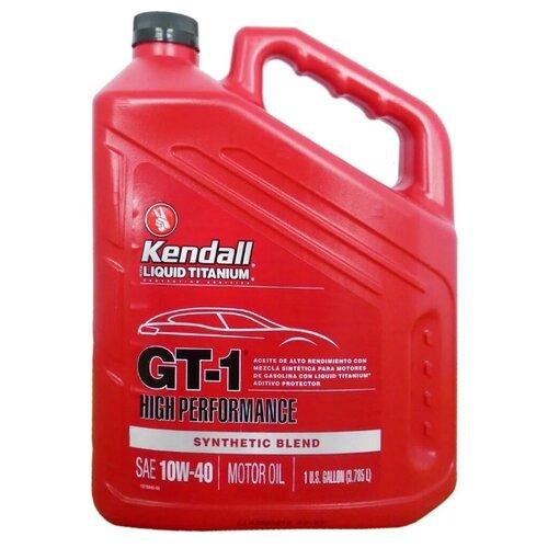 Синтетическое моторное масло Kendall GT-1 High Performance Motor Oil with Liquid Titanium SAE 10W-40 3.78 л- преимущества, отзывы, как заказать товар за 2194 руб. Бренд Kendall