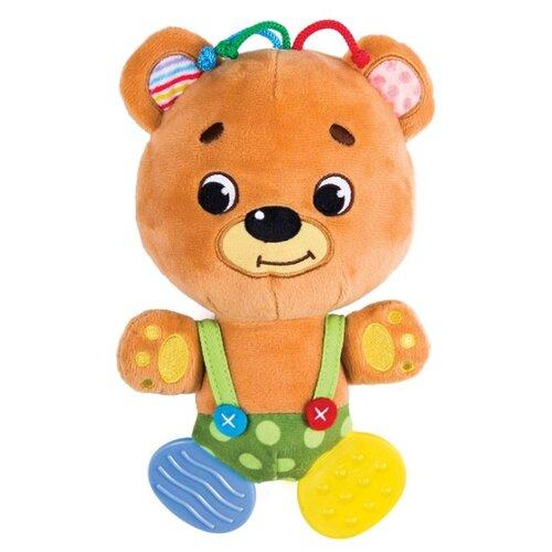 Развивающая игрушка Happy Snail Мишка Топтышка коричневый развивающая игрушка 52431 коричневый