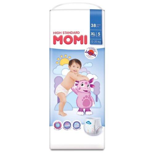 Momi трусики High Standard XL (12-20 кг) 38 шт. momi трусики m 6 10 кг 44 шт