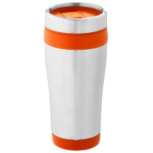 Термостакан Elwood c изоляцией, серебристый, оранжевый