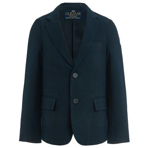Купить Пиджак Gulliver размер 140, темно-синий, Пиджаки