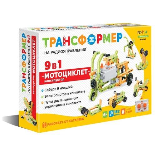 Купить Винтовой конструктор ND Play Трансформер 284387 Мотоциклет 9 в 1, Конструкторы