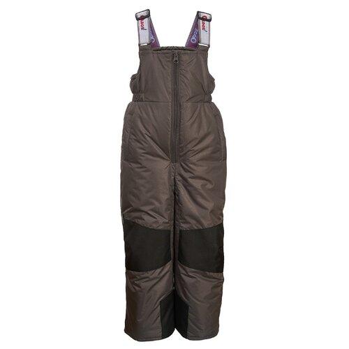 Купить Полукомбинезон Oldos Мишель OAW193T1PT67 размер 92, темно-серый, Полукомбинезоны и брюки