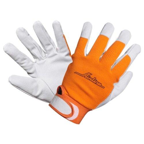Фото - Перчатки Airline AWG-S-14 1 пара белый/оранжевый перчатки airline awg s 07 2 шт