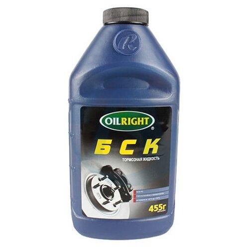 Тормозная жидкость OILRIGHT DOT-3 (БСК) 0.5 л