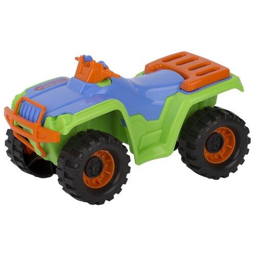 Купить Квадроцикл СТРОМ У819 25.5 см зеленый/голубой/оранжевый, Машинки и техника
