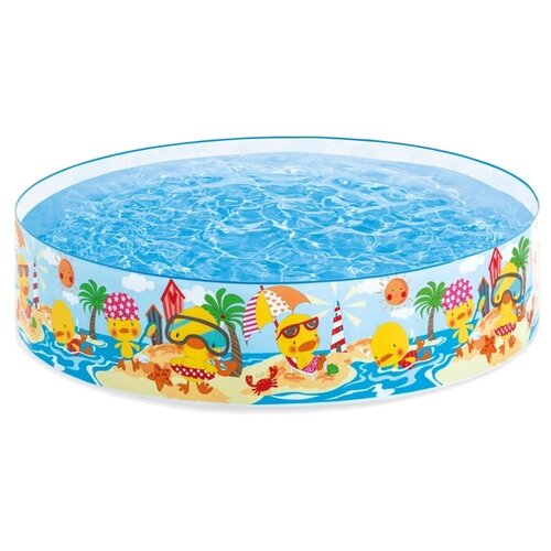 Детский бассейн Intex Duckling 58477 детский бассейн intex океан 56452