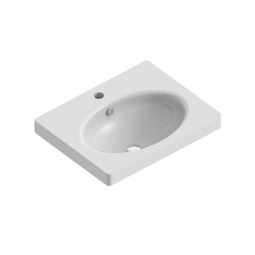 Раковина-столешница 73.4 см SANITA LUXE NEXT 70 раковина мебельная sanita luxe next 60 для мебели 23396 next 60