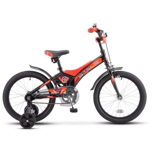 Детский велосипед STELS Jet 18 Z010 (2020) черный/оранжевый 10