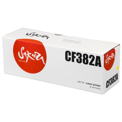 Купить Картридж Sakura CF382A, совместимый