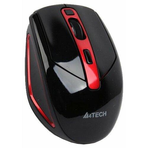 Беспроводная мышь A4Tech G11-590FX-4 Black-Red USB черно-красный