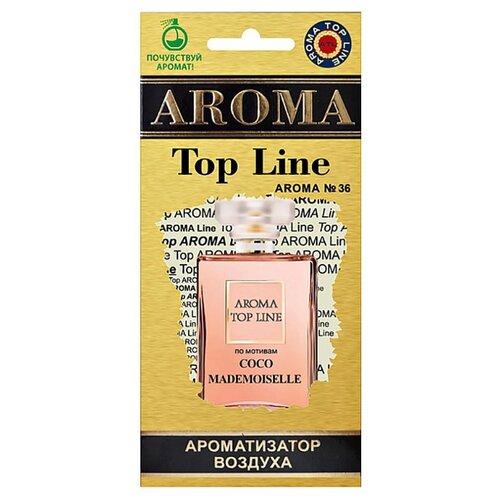 AROMA TOP LINE Ароматизатор для автомобиля Aroma №36 Chanel Coco Mademoiselle 14 г