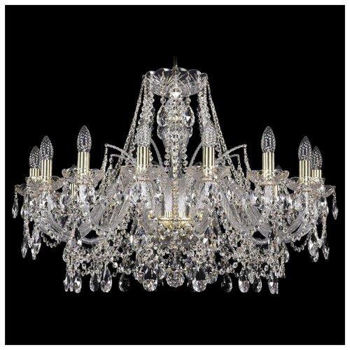 Люстра Bohemia Ivele Crystal 1411 1411/16/300/G, E14, 1080 Вт bohemia ivele crystal подвесная люстра 1411 12 380 72 g