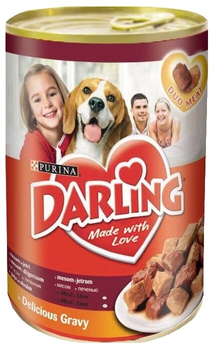 Корм для собак Darling печень 1.2 кг