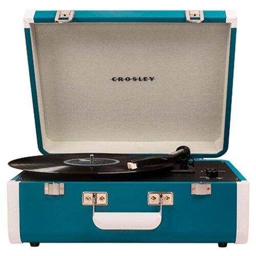 Купить Виниловый проигрыватель Crosley Portfolio CR6252A turquoise
