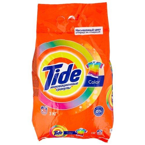 Стиральный порошок Tide Color (автомат) 3 кг пластиковый пакет стиральный порошок sandokkaebi se plus 3 3 кг пластиковый пакет