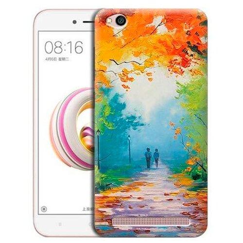 Чехол Gosso 695598 для Xiaomi Redmi 5A яркая осеньЧехлы<br>