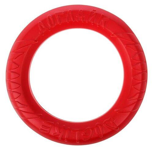 Кольцо для собак Doglike Снаряд Tug&Twist для профессиональной дрессировки большой (D-1272) коралловый