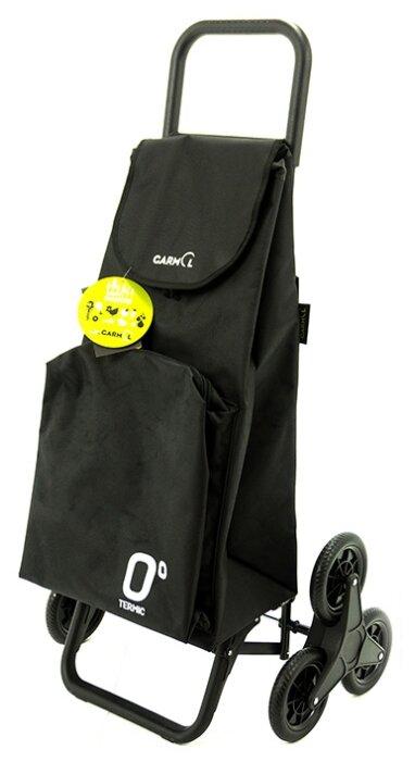Купить Сумка-тележка Garmol Travel termic шасси 3x3, черный по низкой цене с доставкой из Яндекс.Маркета (бывший Беру)