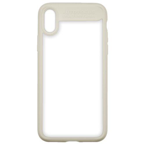 Купить Чехол INTERSTEP Pure-Case для Apple iPhone X бежевый