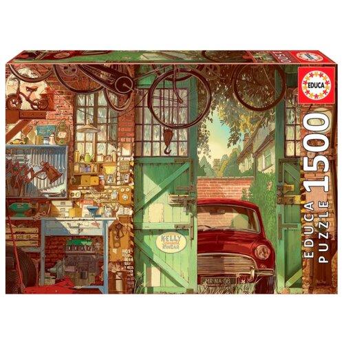 Купить Пазл Educa Старый гараж, Арли Джонс (18005), 1500 дет., Пазлы