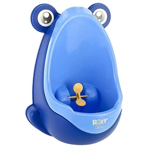 ROXY-KIDS писсуар Лягушка с прицелом голубой roxy kids детский писсуар на присосках roxy kids лягушка бежево коричневый