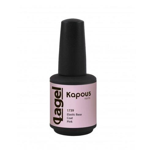 Kapous Professional базовое покрытие Elastic Base Coat 15 мл 1739 pink недорого