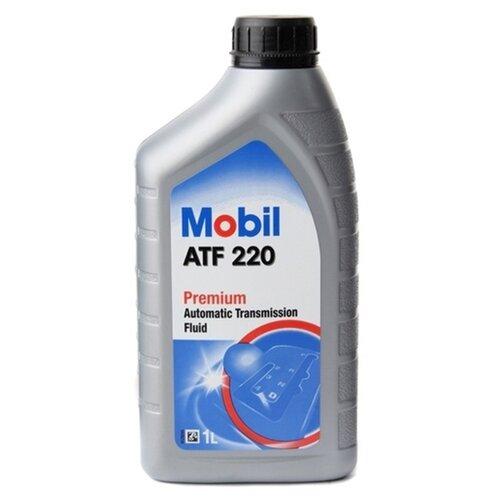 Коробка передач масло MOBIL ATF 220 1 л трансмиссионное масло mobil atf 320 1 л