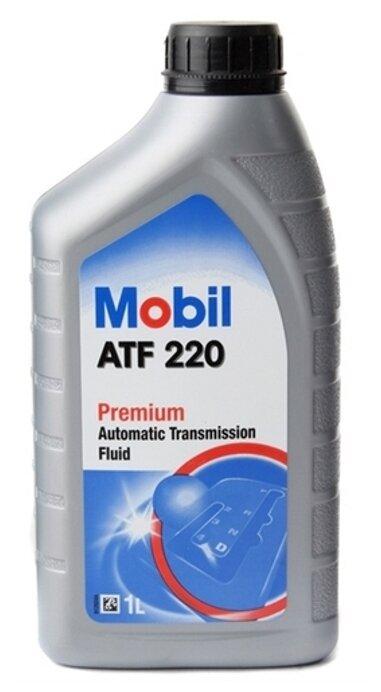 Масло трансмиссионное Mobil ATF 220 Dexron II минеральное 1л