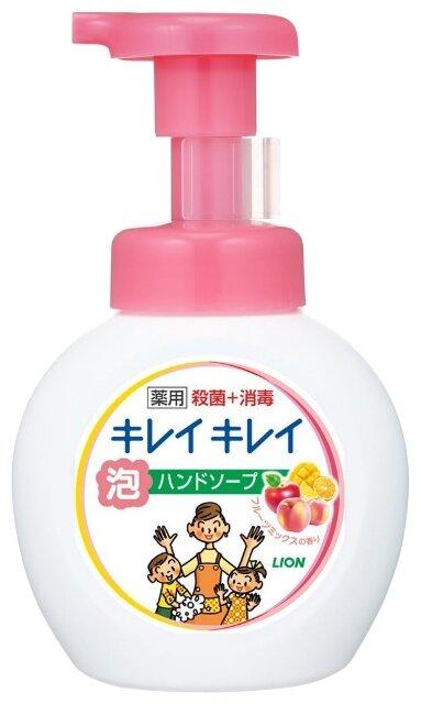 Пенное мыло для рук Kirei Kirei (с ароматом микса фруктов), LION Япония 250 мл