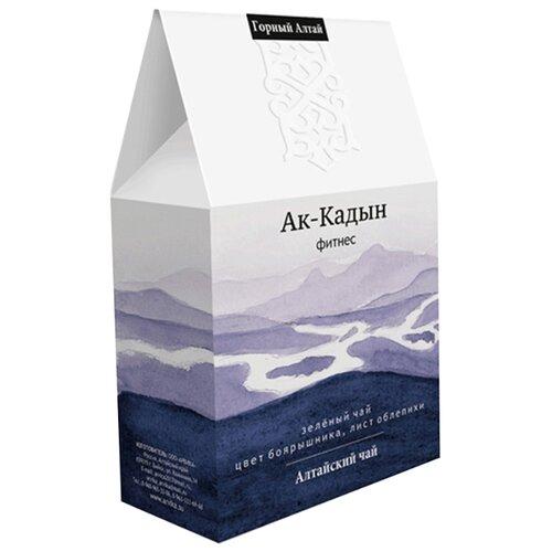 Чай зеленый Горный Алтай Ак-Кадын, 50 г косметика зеленый алтай