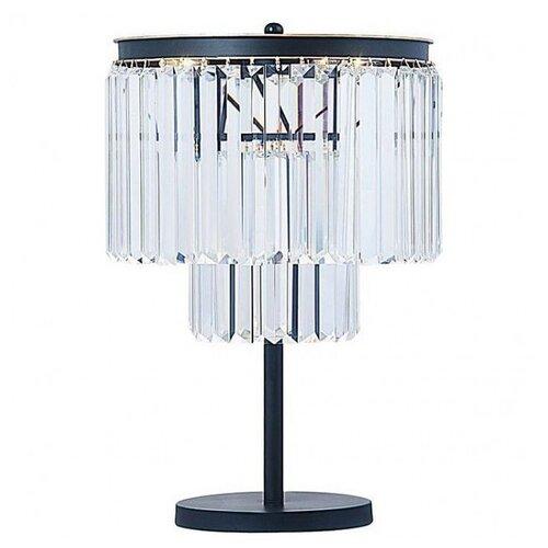 Настольная лампа Divinare Nova Black 3001/01 TL-4, 160 Вт
