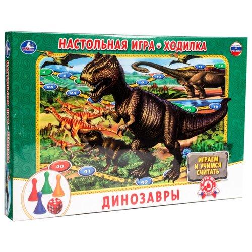 Купить Настольная игра Умка Динозавры, Настольные игры