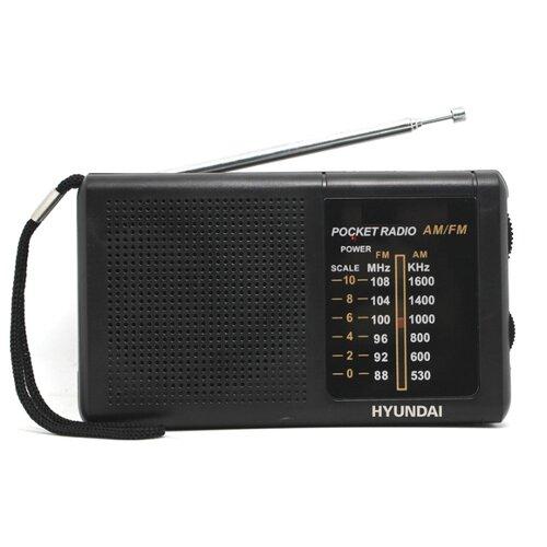 Радиоприемник Hyundai H-PSR130 черный